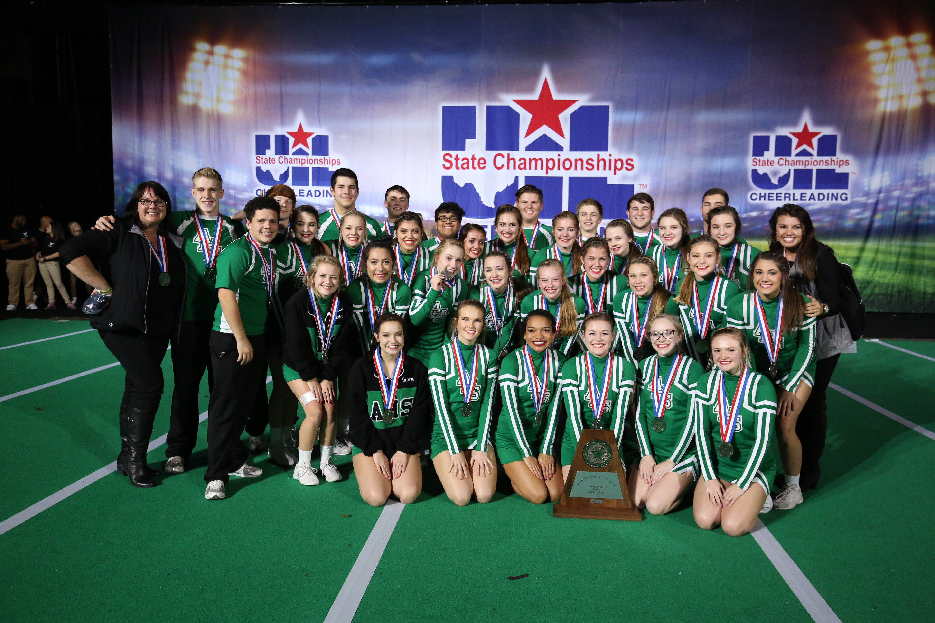 UIL Large COED STate Runner-Up